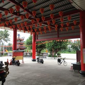 Taiwan bike temple