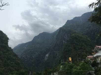 Taiwan mountain buddge